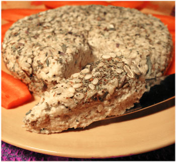Herbed Seed Cheese